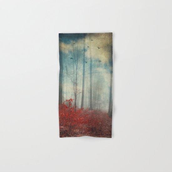 open woodland dreams Hand & Bath Towel