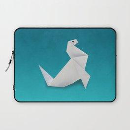 Seal origami Laptop Sleeve