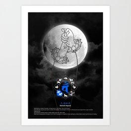Mudra: Dainichi Nyorai Art Print
