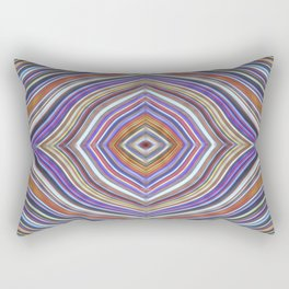 Wild Wavy Diamonds 13 Rectangular Pillow