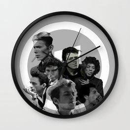Playlist Wall Clock