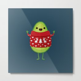 AVO MERRY CHRISTMAS Metal Print