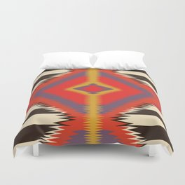 American Native Pattern No. 102 Duvet Cover