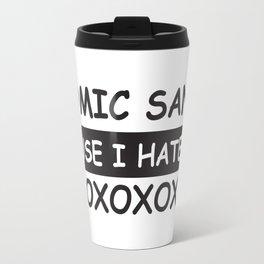 Comic Sans (BECAUSE...) Travel Mug