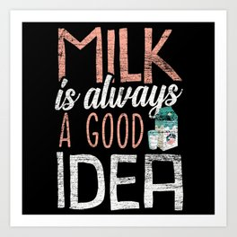 Breast Milk Breastfeeding Art Print