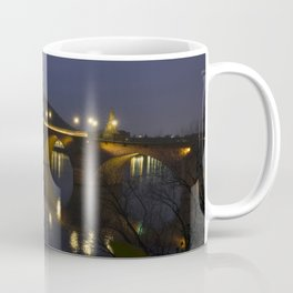 Heidelberg Bridge by night Coffee Mug