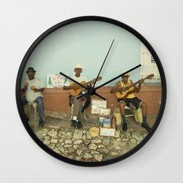 Los Pinos Wall Clock