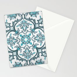 European tiles Stationery Cards