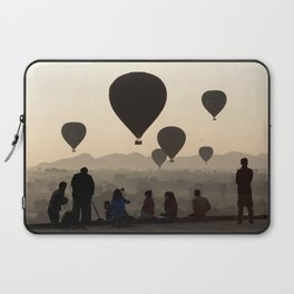 Hot-air Balloons over Bagan, Myanmar Laptop Sleeve