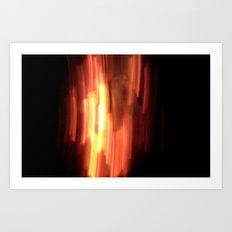 HellFire 001 Art Print