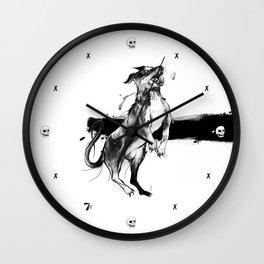 Mortecina Gozque Wall Clock