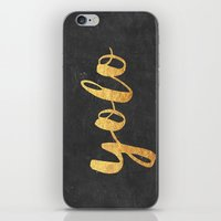 yolo iPhone & iPod Skins featuring YOLO by Text Guy