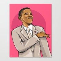 mcfreshcreates Canvas Prints featuring Easter Pink by McfreshCreates