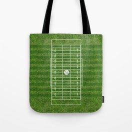 American football field(gridiron) Tote Bag