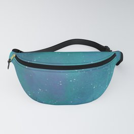 Teal Watercolour Sky Fanny Pack
