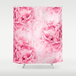 Light Red Peonies Dream #1 #floral #decor #art #society6 Shower Curtain