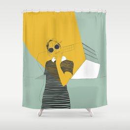 Casa da Música Shower Curtain