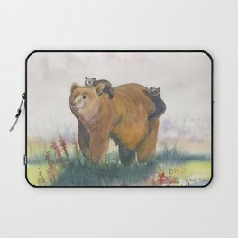 Bear Family Laptop Sleeve