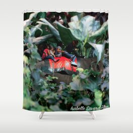 An richt elves 1 (le royaume des elfes 1) Shower Curtain