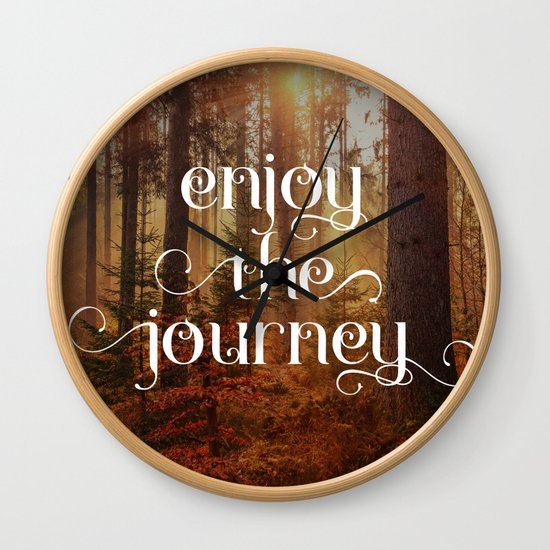 Enoy the journey  Inspirational quote design by gpimages