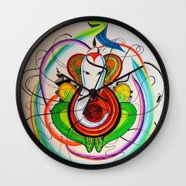 Atomic Ganesha Wall Clock