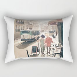 Barricade Day Rectangular Pillow