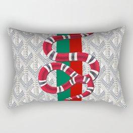 Goyard White Guci Rectangular Pillow