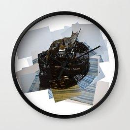 Howl at the Moon (Pillow Talk) Wall Clock