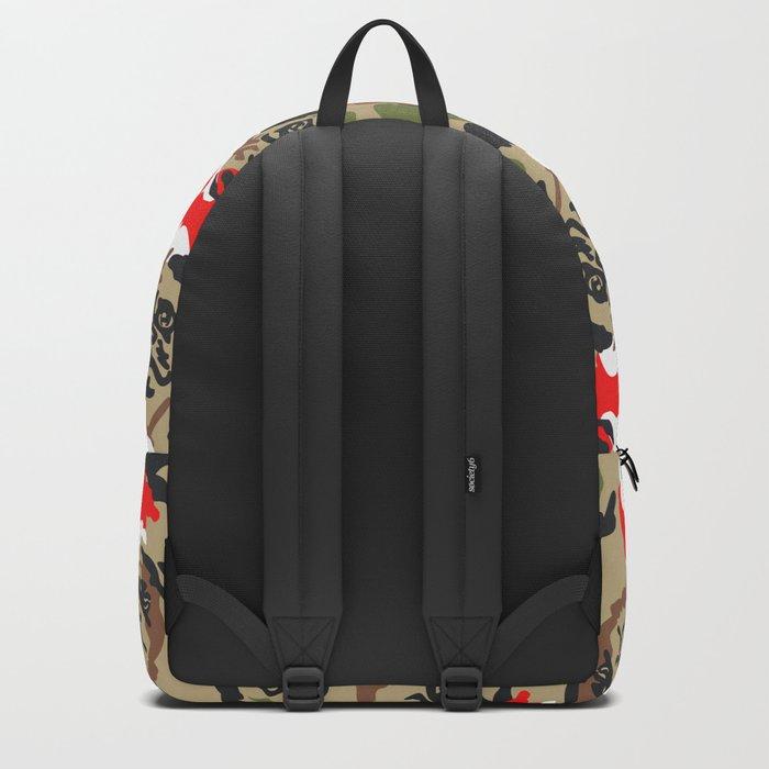 Pugly Camo X-Mas Backpack