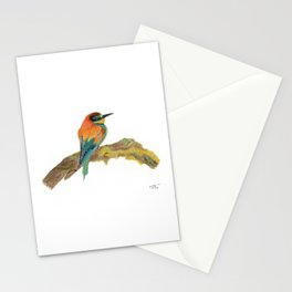 European Bee Eater Watercolor Stationery Cards