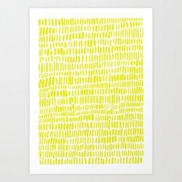 Colza Art Print