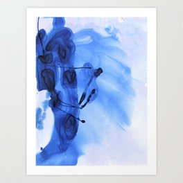 Blue Dream Art Print