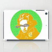 beethoven iPad Cases featuring Ludwig van Beethoven 16 by Marko Köppe