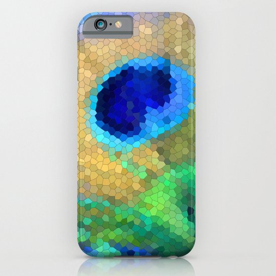 abstract peacock iPhone & iPod Case