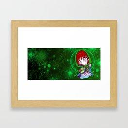 Dampier N'Resh, Who me? Framed Art Print
