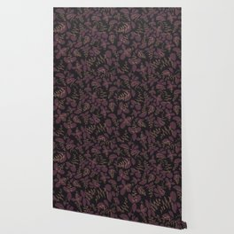 purpur // purple branches, delicate flowers Wallpaper