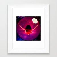 code geass Framed Art Prints featuring Eye of Geass by iamomnipotent