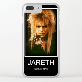 The Goblin King Clear iPhone Case