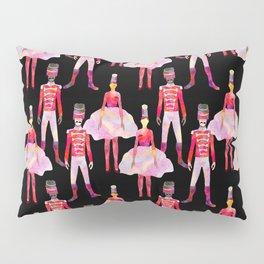 Nutcracker Ballet - Black Pillow Sham