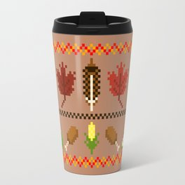 Ugly Thanksgiving Sweater Travel Mug