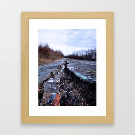 Trial Through Silent Hill Framed Art Print