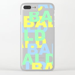 BALD Clear iPhone Case