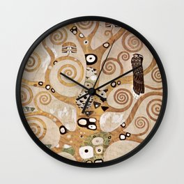 Gustav Klimt - Lebensbaum Wall Clock