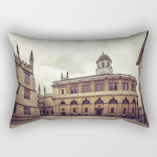 Oxford: Sheldonian Theater Rectangular Pillow