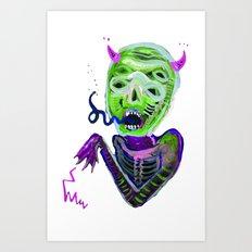 demoniooOOoOOoOooo #3 Art Print