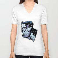 xmen V-neck T-shirts featuring x15 by jason st paul