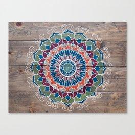 Joey Mandala Canvas Print