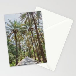 Date Palm Trees in Oman #1 Stationery Cards