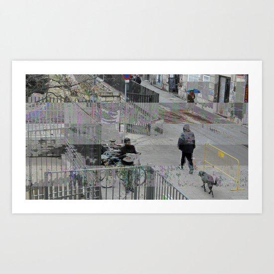 Sunday 13 January 2013:  symptomatic social stratification soliloquy Art Print