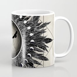 Crow Twilight Dreamcatcher Coffee Mug